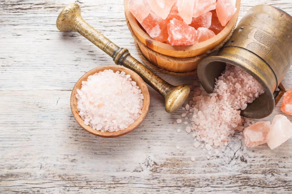 Die verschiedenen Formen, in denen Himalayasalz - oder besser Kristallsalz verkauft wird