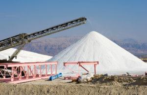 Salzproduktion aus Salzbergwerken, Kochsalz aus Salzminen